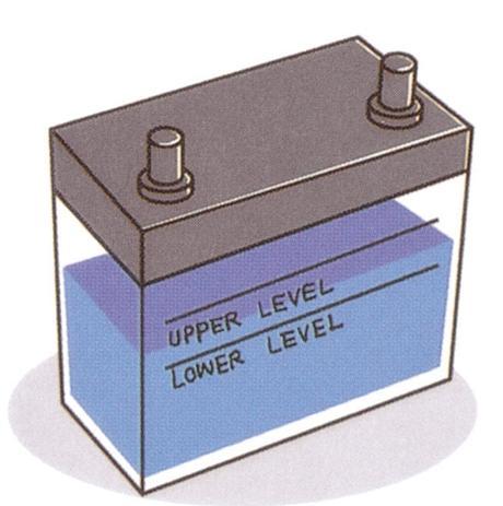 Các hư hỏng thường gặp của bình ắc quy - Cạn điện tích