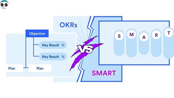 Sự giống và khác nhau OKR với SMART